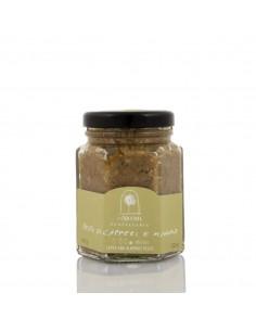 Pantelleria capers, pesto and almonds 100 g