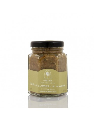 Pesto di Capperi di Pantelleria e Mandorle gr.100 a05e32eaf82d