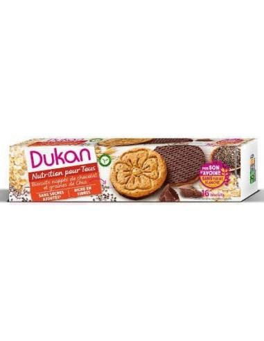Biscotti di crusca d'avena con semi di chia Dukan