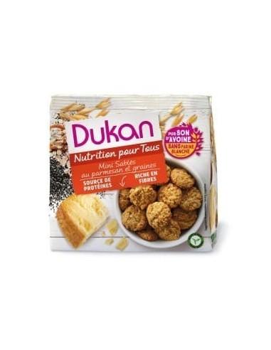 Mini Frollini al parmigiano e semi Dukan