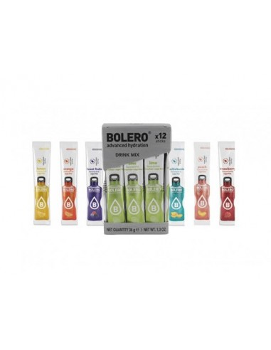Bolero Sticks  con stevia Mix 3 g