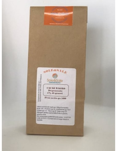 Cacao Magro 1% grassi Gr. 500