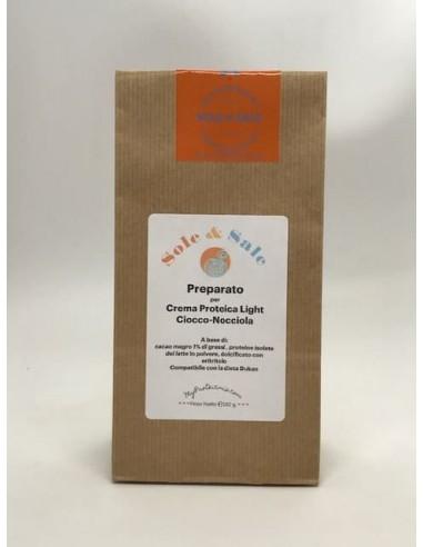 Preparato per Crema CioccoNocciola con Cacao Magro 1%