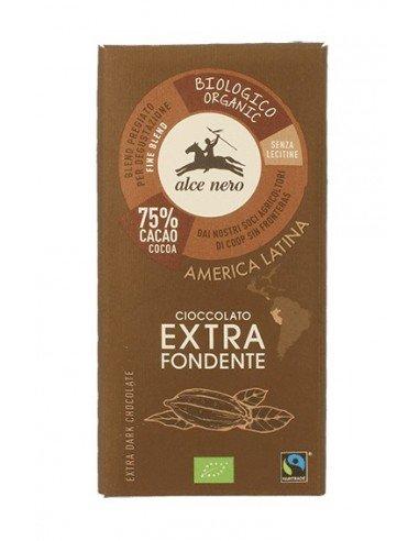 Cioccolato Extra fondente  75% BIOLOGICO