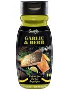 Salsa Alle Erbe aromatiche e aglio Servivita Zero Grassi Senza Glutine
