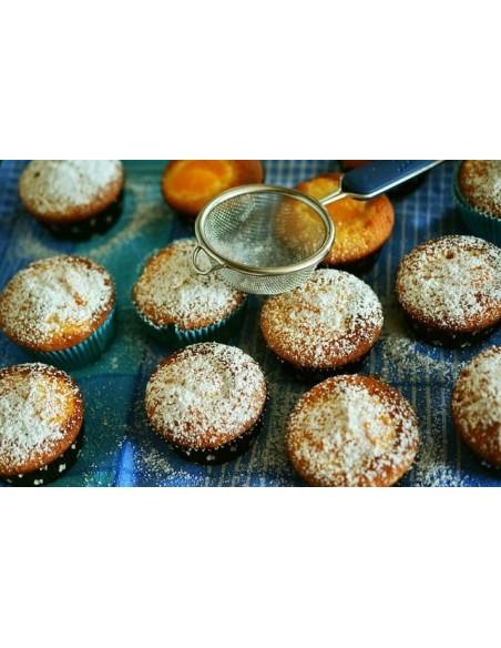 Muffins Proteici all'arancia  con Gocce di Cioccolato