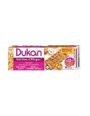 Biscotti Dukan Nocciola e crusca d'avena