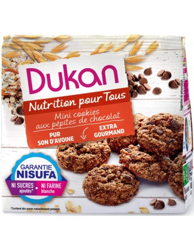 Mini Cookies al Cioccolato Gourmand Dukan