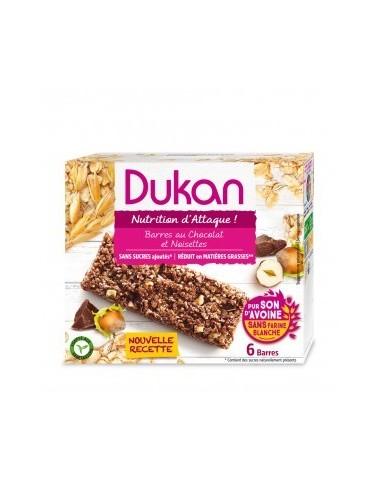 Barrette Cioccolato e Nocciola Dukan