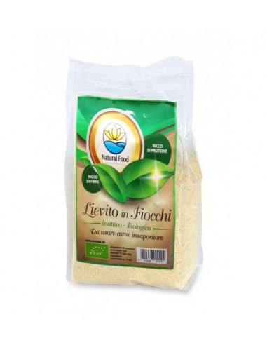 Lievito Secco in fiocchi Bio Natural Food g 150