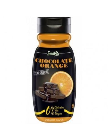 Sciroppo al Cioccolato e Arancia zero grassi Servivita