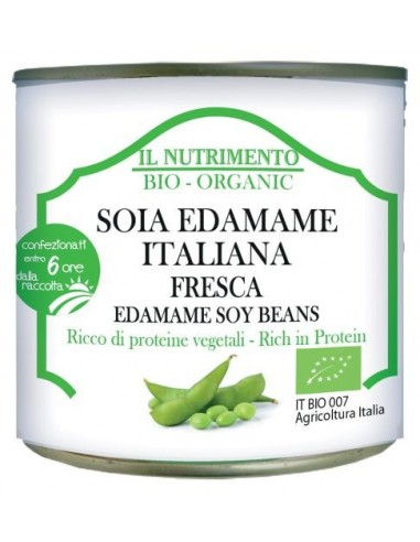 Soia Edamame Italiana fresca Bio