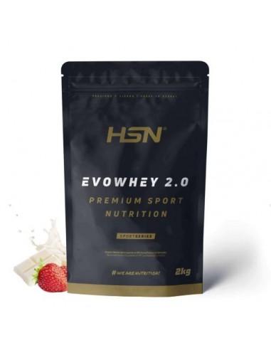 Proteine Isolate del siero del latte Fragola e Cioccolato bianco