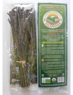 Lavender di Sicilia-Bio-25 grams.