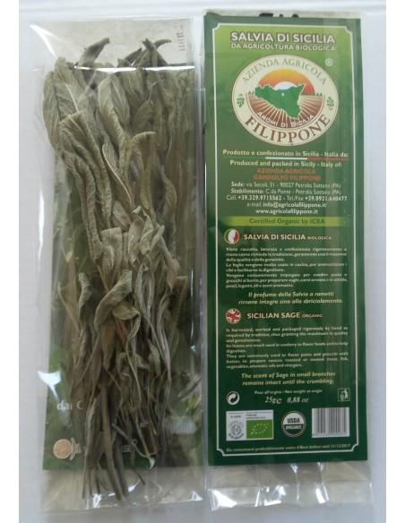 Salvia di Sicilia - Bio - Gr.25