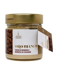 Oro Bianco Crema di Mandorle d'Avola- 180g Fiasconaro